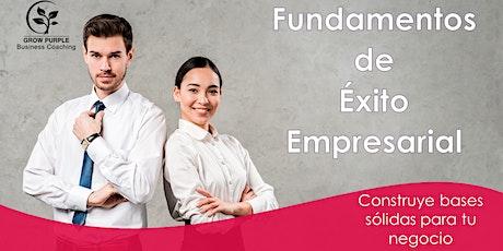 Fundamentos de Éxito Empresarial tickets