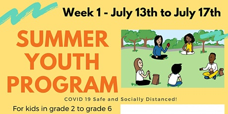 Parkwood Gardens In-Person Summer Day Program! Week 1! tickets