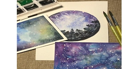 Virtual Workshop: Watercolor Galaxies (08-15-2020 starts at 2:00 PM) tickets