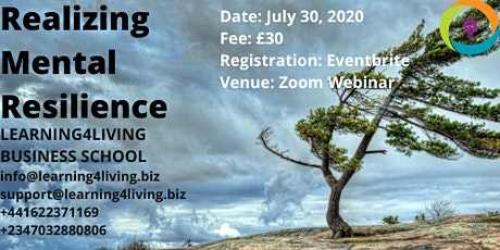 REALIZING MENTAL RESILIENCE tickets