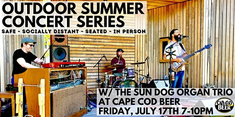 Outdoor Summer Concert Series: Sun Dog Organ Trio tickets