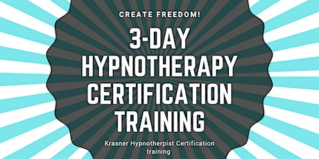 3- Day Hypnotherapy Certification Training tickets