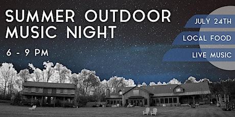 Summer Outdoor Music Night tickets