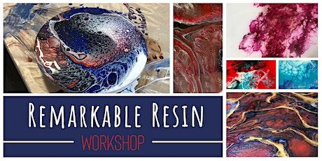 Remarkable Resin Art Workshop tickets