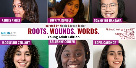 The Young Adult Roots. Wounds. Words. + NeON Arts Storyteller Showcase tickets