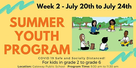 Parkwood Gardens In-Person Summer Day Program! Week 2! tickets