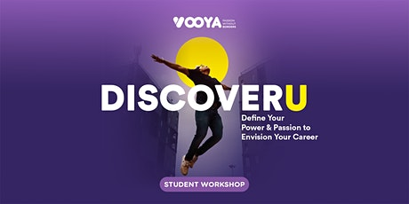 DiscoverU: Define Your Power & Passion to Envision Your Career tickets