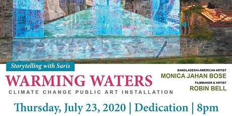 WARMING WATERS Public Art Installation Day 1 and Dedication tickets