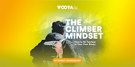 The Climber Mindset: How to be Fearless in Your Study tickets