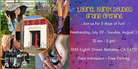 Laurel Burch Studios Grand Opening tickets