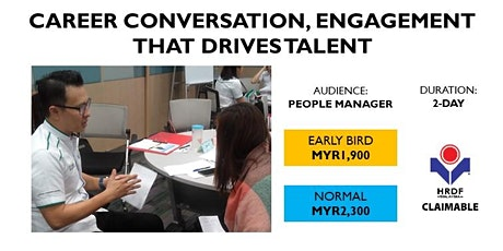 Career Conversation, Engagement That Drives Talent (HRDF Claimable) tickets