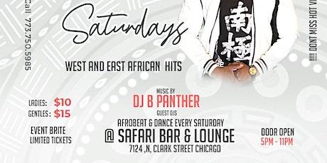 AfroBeat AFRO CARIBBEAN SATURDAYS. West AFroBeats meets East AFroBeats. tickets