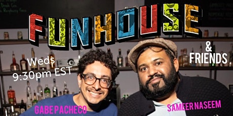 Funhouse Comedy Showcase on ZOOM tickets