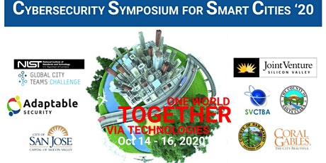 Cybersecurity for Smart Cities 2020 -NIST GCTC SuperClusters Leadship tickets