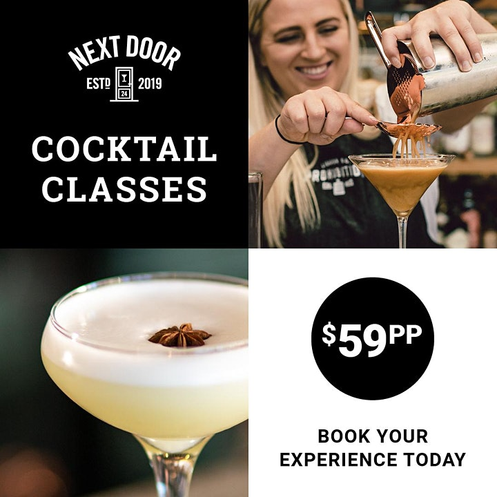 Cocktail Making Class image