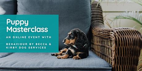 Puppy Online Masterclass tickets