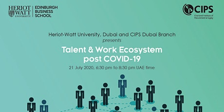 Talent and Work Ecosystem post COVID-19 tickets