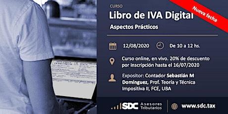 Libro de IVA Digital. Aspectos Prácticos. entradas