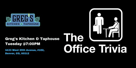 The Office Trivia at Greg's Kitchen & Taphouse tickets