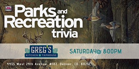 Parks & Rec Trivia at Greg's Kitchen & Taphouse tickets