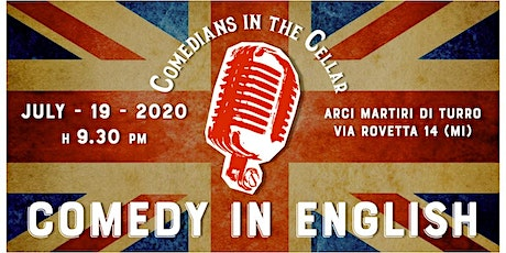 Comedians in the Cellar: Comedy in English biglietti