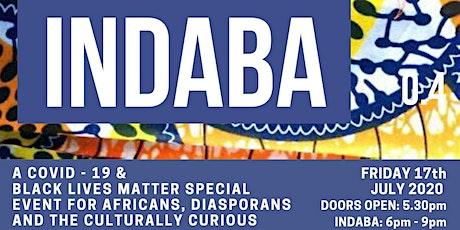 INDABA 4 - Black Lives Matter Special tickets