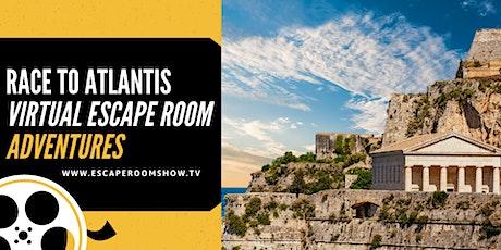 Race to Atlantis Virtual Escape Room  Adventure PRIVATE tickets