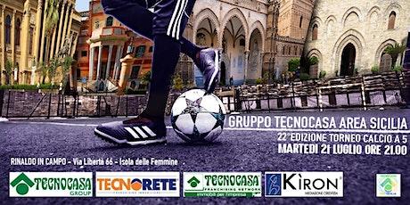 Torneo Tecnocasa Calcetto Sicilia 2020 biglietti