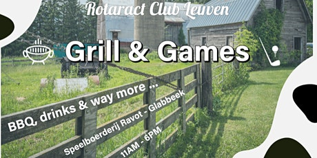 Grill & Games tickets