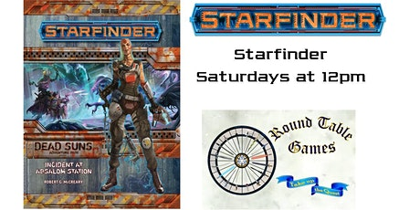 Starfinder Saturdays with Round Table Games tickets