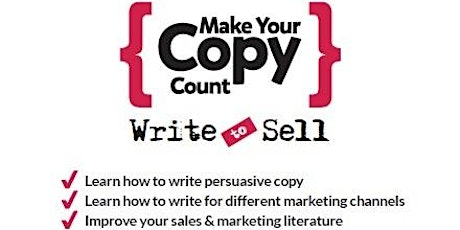 Write to Sell: Online Training tickets
