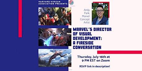 Marvel's Director of Visual Development: A Fireside Conversation tickets