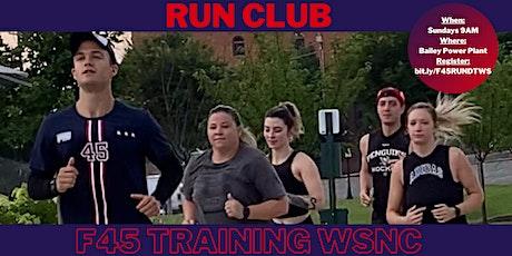 FREE Run Club with F45 Training WSNC & GSO tickets