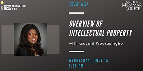 Overview of Intellectual Property with Gayani Weerasinghe tickets