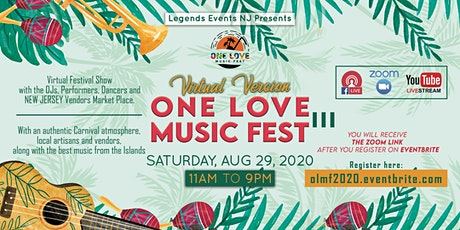 One Love Music Fest III: Virtual Version tickets
