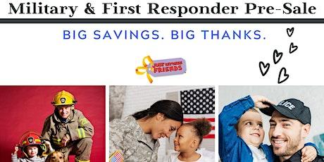 Military & First Responders JBF 2020 Fall Pass tickets