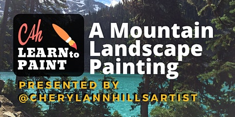 Learn to Paint a Mountain Scene tickets