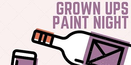 Grown-Ups Paint Night tickets