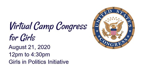Virtual Camp Congress for Girls Tickets