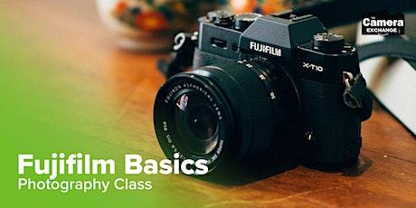 Fujifilm Basics Photography Class Tickets