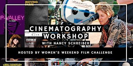 Cinematography workshop with Nancy Schreiber, ASC tickets