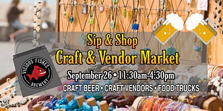 Sip & Shop - Craft & Vendor Market tickets