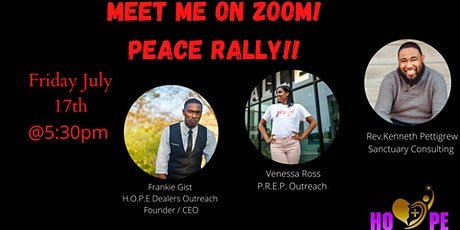 Meet Me On Zoom Peace Rally! tickets