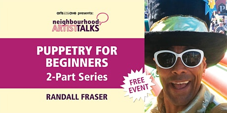 Puppetry for Beginners with Randall Fraser tickets