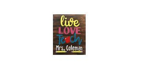 Live Love Teach | Adult Paint 'n Sip|  $25-$30 tickets