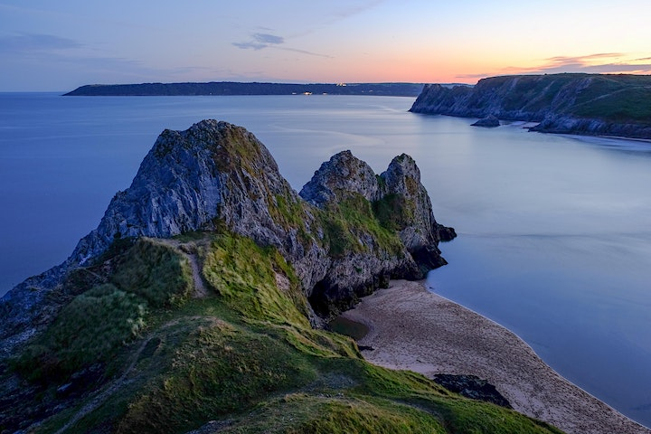 Reserved Parking for Heritage Centre & Three Cliffs Bay image