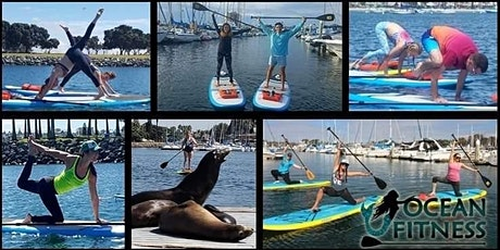Ocean Paddle Fitness & SUP Yoga Class tickets