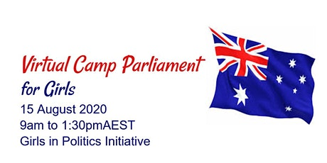 Virtual Camp Parliament for Girls Tickets