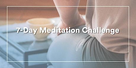 Free 7 - DAY Evening Meditation Challenge tickets