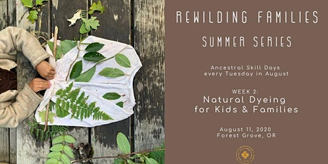 Natural Dyeing Day Camp for Kids & Families tickets